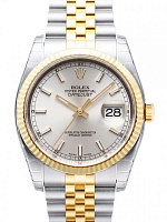 Rolex 116233 Datejust 36 Silver Index Jubilee