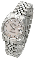 Rolex 178274 Datejust 31 White MOP Diamond Jubilee