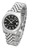 Rolex 178240 Datejust 31 Black Index Jubilee