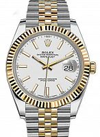 Rolex 126333  Datejust 41 White Index Jubilee