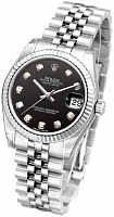 Rolex 178274 Datejust 31 Black Diamond Jubilee