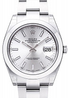 Rolex 126300 Datejust 41 Silver Index Oyster