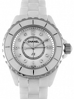 Chanel J12 White Ceramic H2422