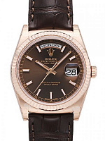 Rolex 118135 Day-Date 36 Chocolate Dial