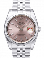 Rolex 116234 Datejust 36 Pink Index Jubilee