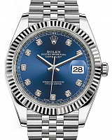 Rolex 126334 Datejust 41 Blue Diamond Jubilee