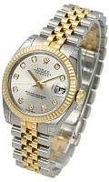 Rolex 178273 Datejust 31 Silver Diamond Jubilee